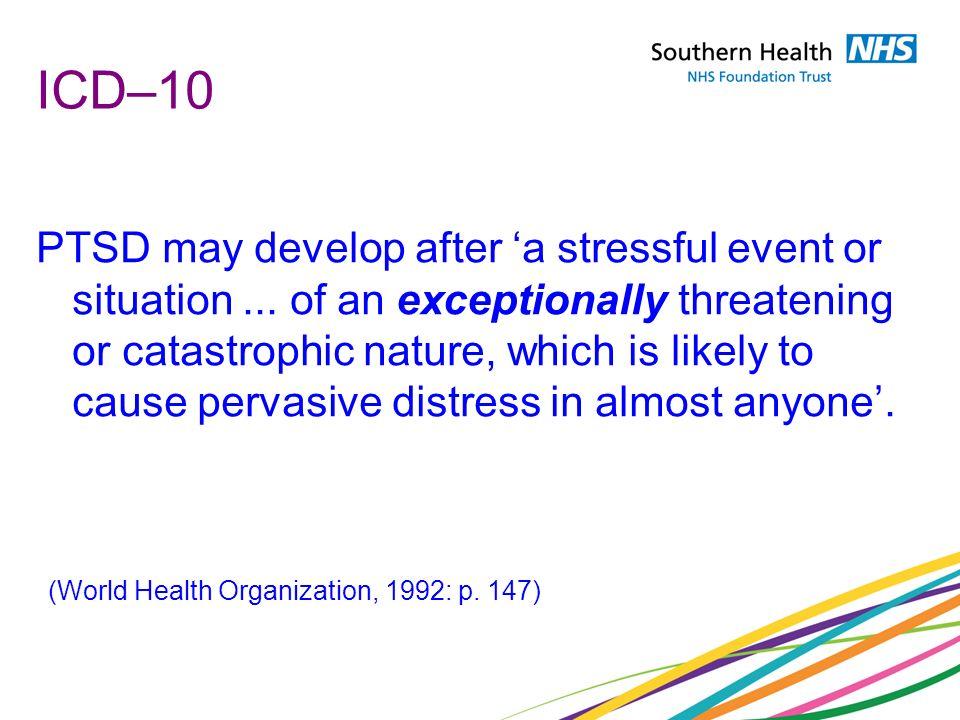 ICD–10