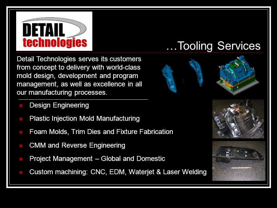 …Tooling Services