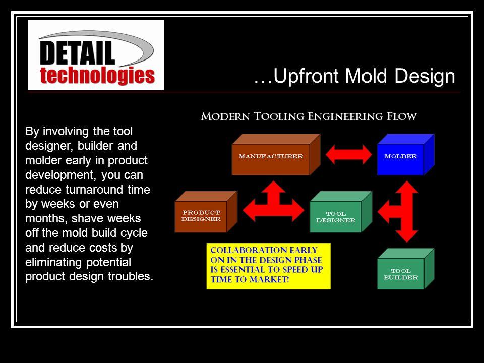 …Upfront Mold Design