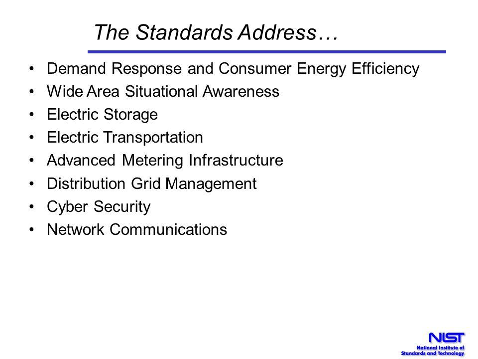The Standards Address…