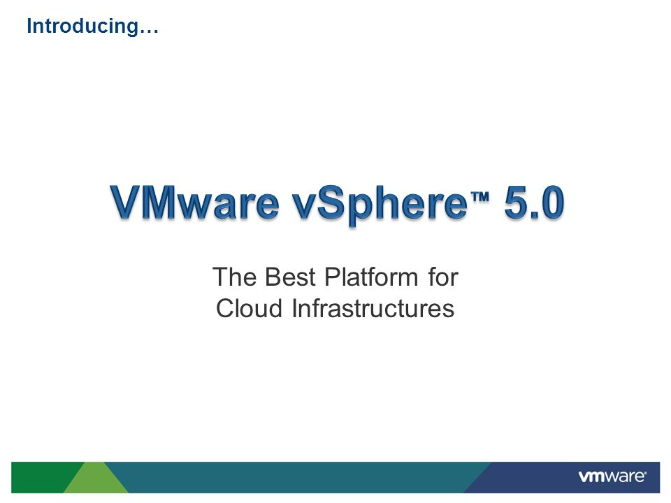 The Best Platform for Cloud Infrastructures