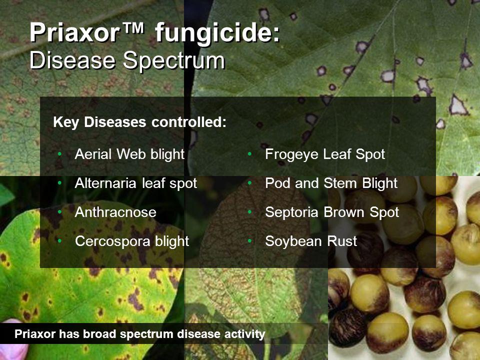 Priaxor™ fungicide: Disease Spectrum