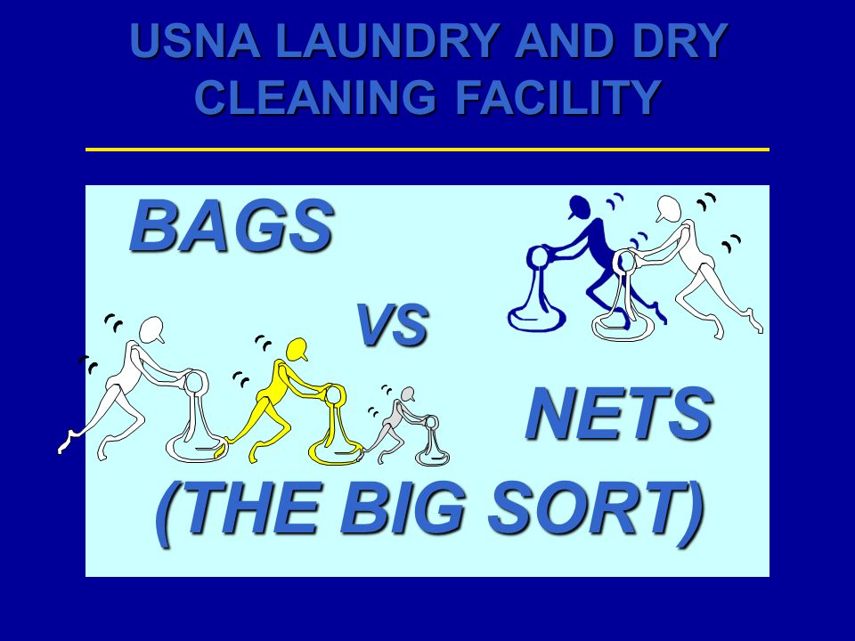 BAGS VS NETS (THE BIG SORT)