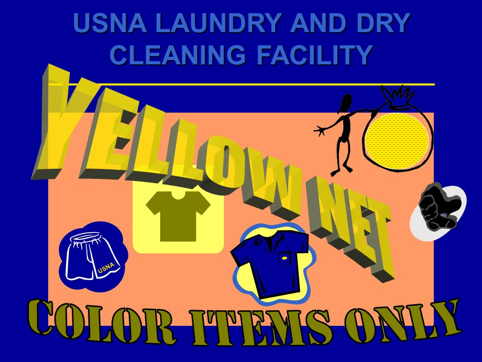 YELLOW NET USNA Color Items Only
