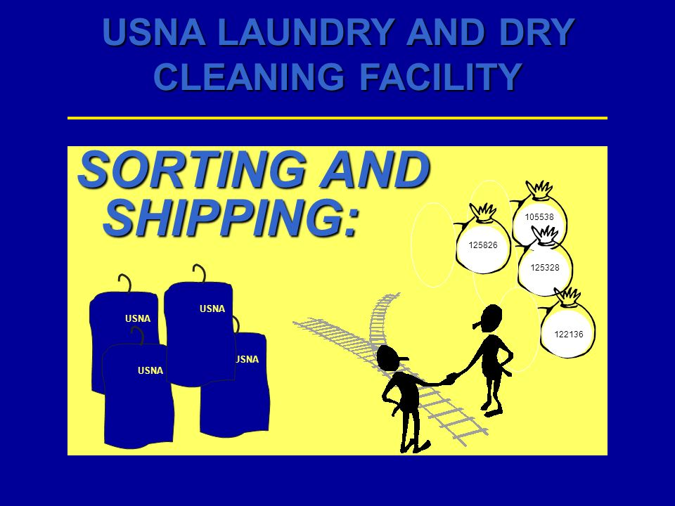SORTING AND SHIPPING: 105538 125826 125328 USNA USNA USNA USNA 122136