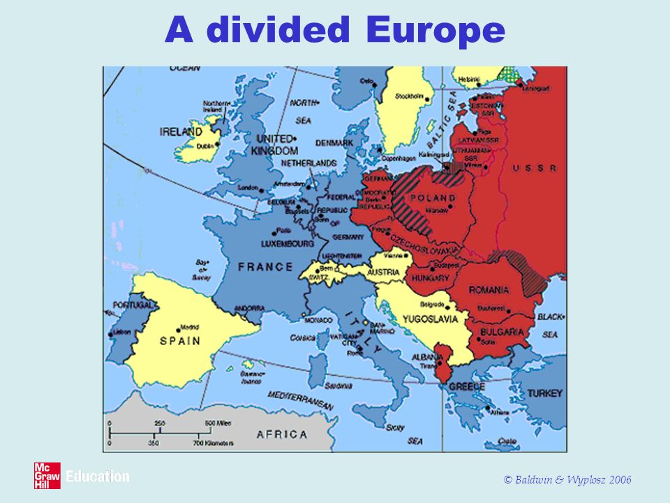 A divided Europe