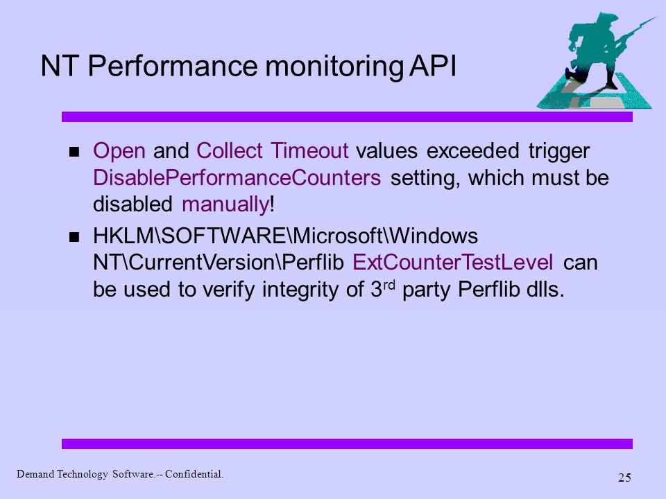 NT Performance monitoring API