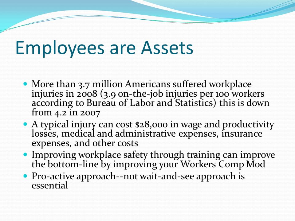 Employees are Assets
