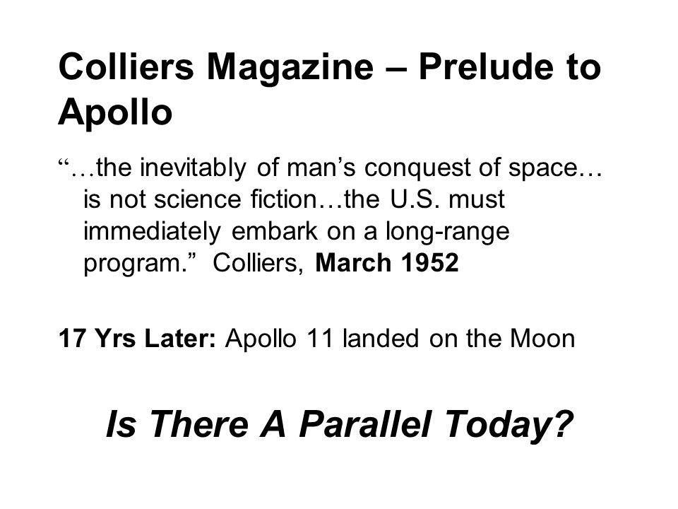 Colliers Magazine – Prelude to Apollo