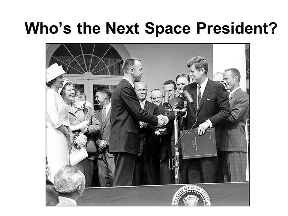 Who's the Next Space President