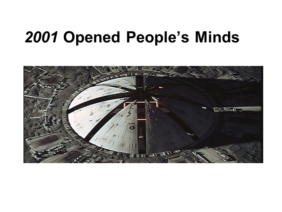 2001 Opened People's Minds