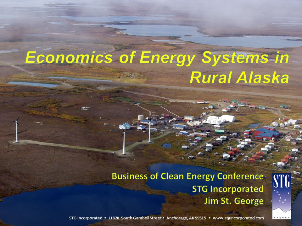 Economics of Energy Systems in Rural Alaska