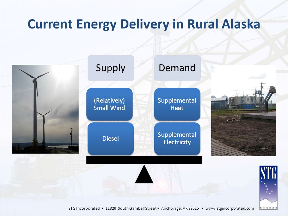 Current Energy Delivery in Rural Alaska