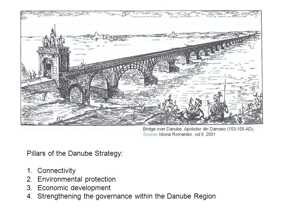 Pillars of the Danube Strategy: Connectivity Environmental protection