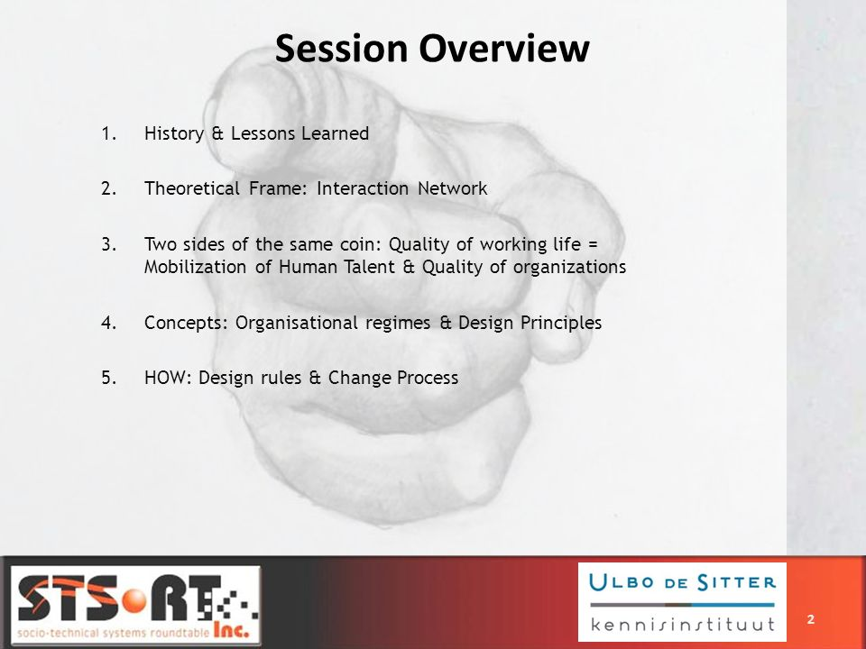 Session Overview History & Lessons Learned