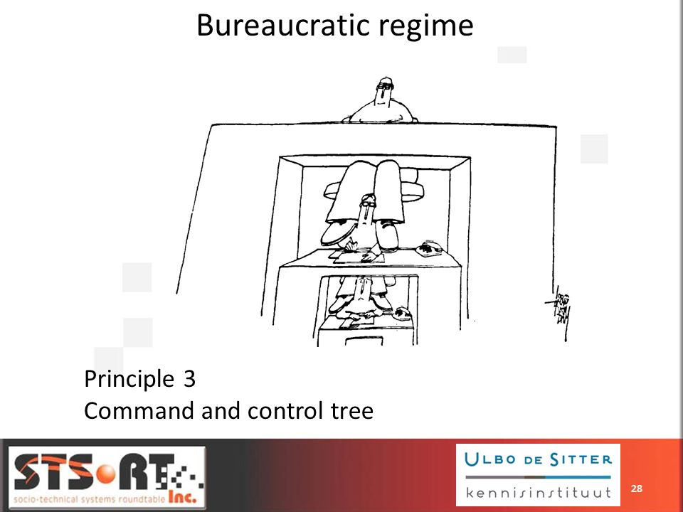 Bureaucratic regime Principle 3 Command and control tree 28