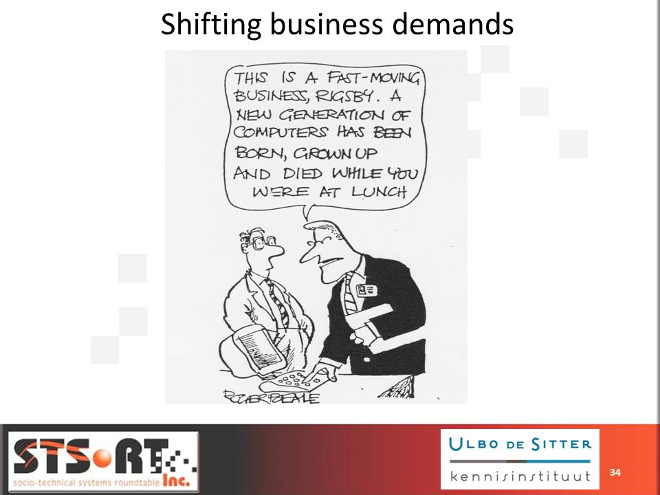 Shifting business demands