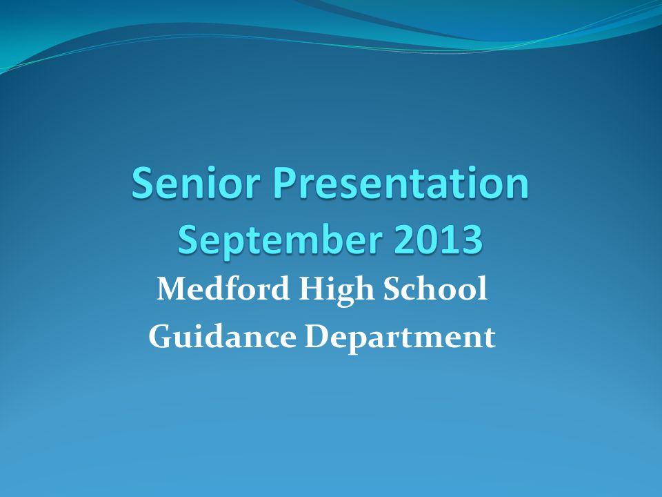 Senior Presentation September 2013