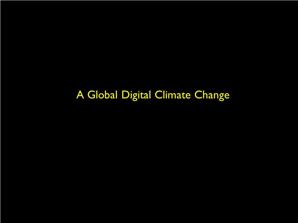 A Global Digital Climate Change