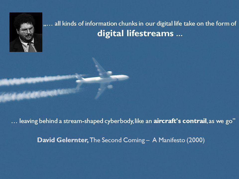 David Gelernter, The Second Coming – A Manifesto (2000)
