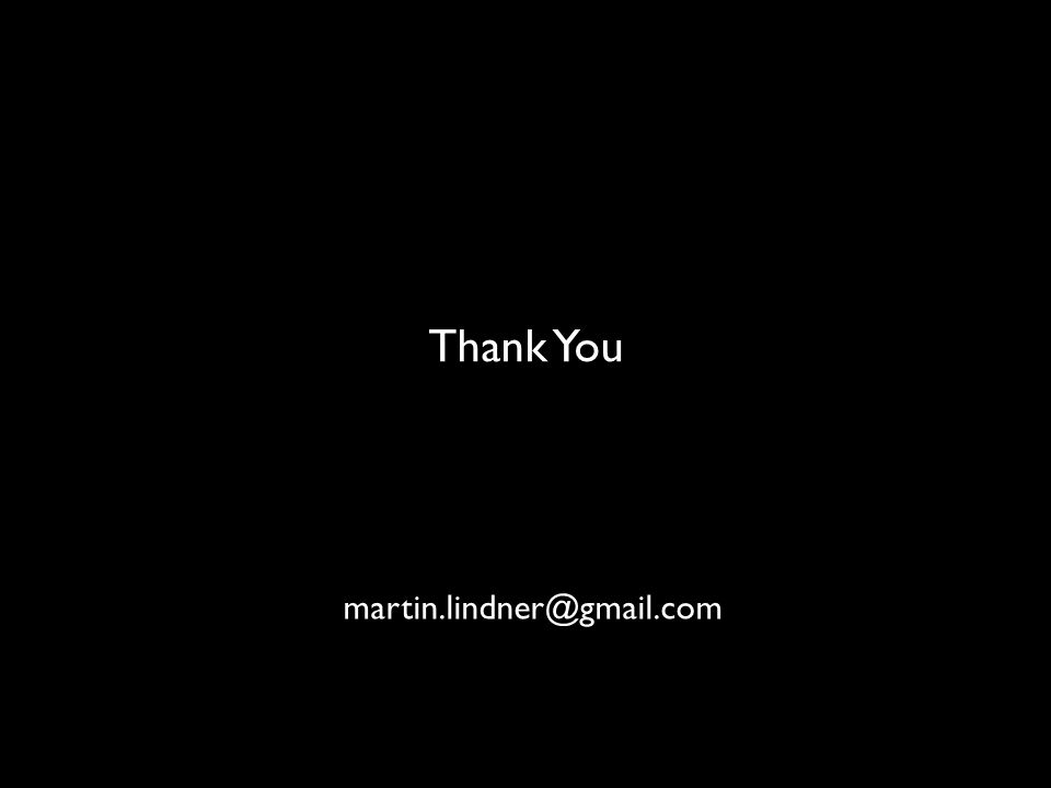 Thank You OPENNESS martin.lindner@gmail.com