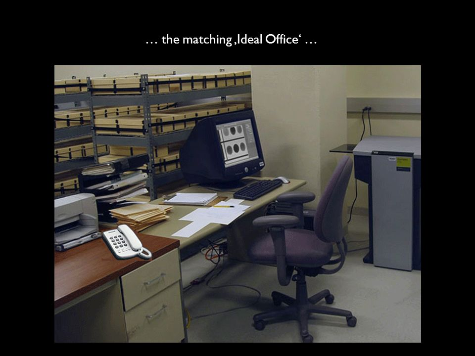 … the matching 'Ideal Office' …