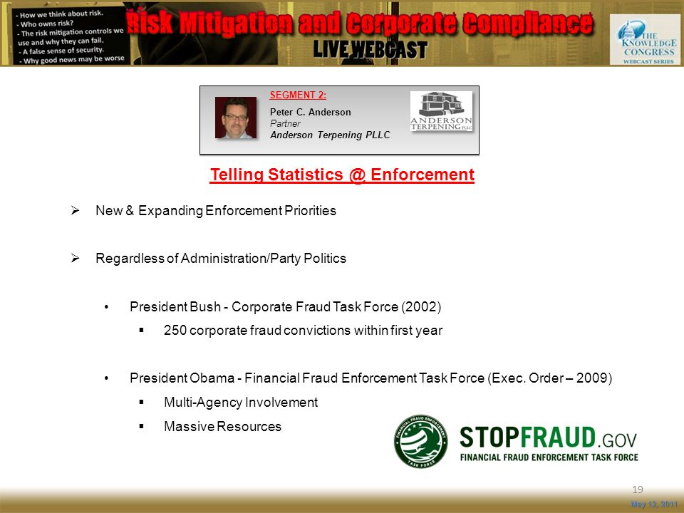 Telling Statistics @ Enforcement