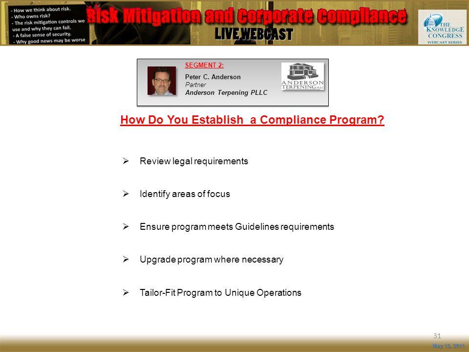 How Do You Establish a Compliance Program