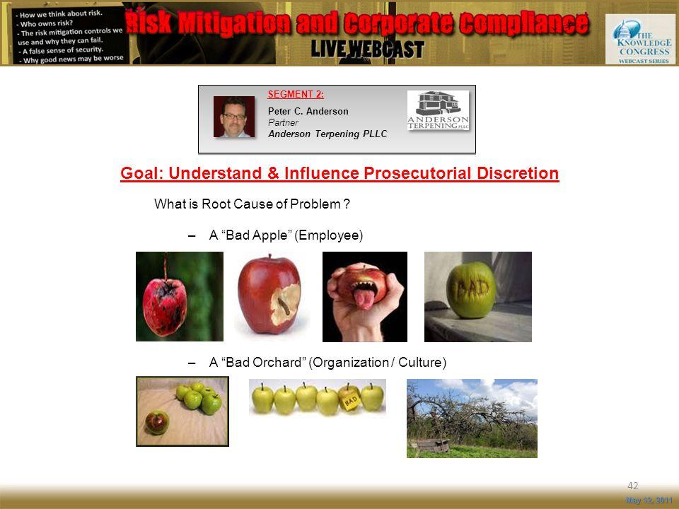 Goal: Understand & Influence Prosecutorial Discretion
