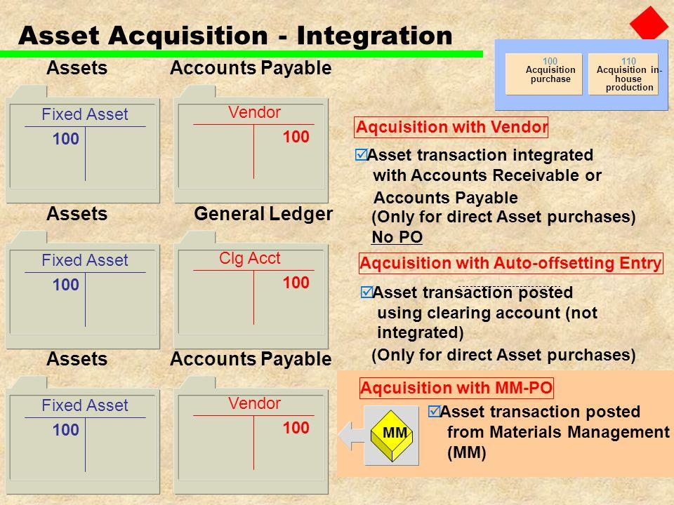 Asset Acquisition - Integration