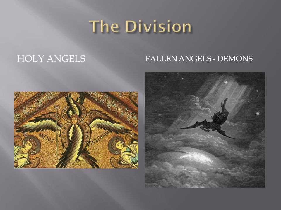 The Division HOLY ANGELS FALLEN ANGELS - DEMONS
