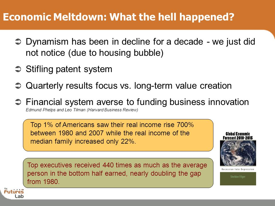 Economic Meltdown: What the hell happened