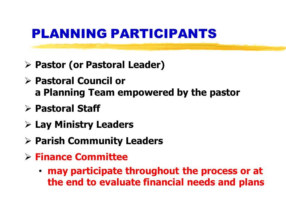 PLANNING PARTICIPANTS