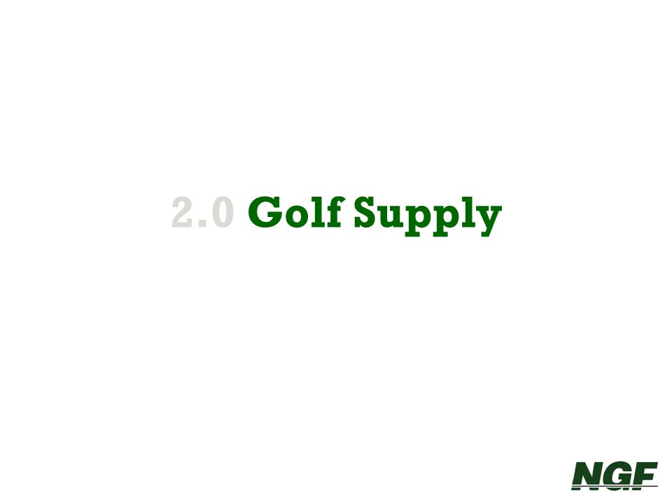 2.0 Golf Supply 8 8