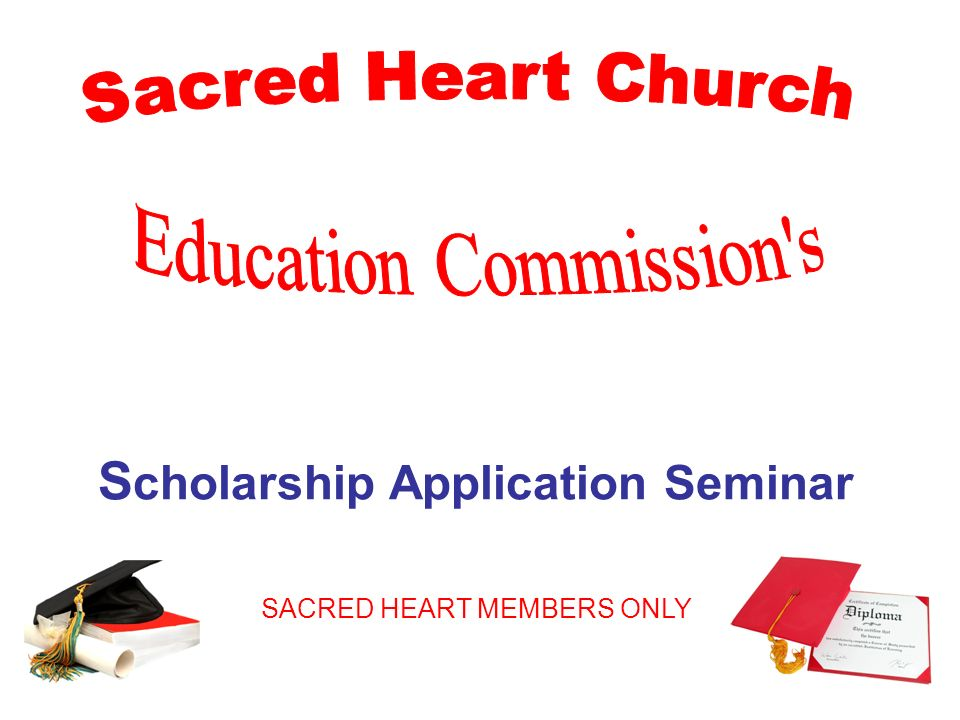 Scholarship Application Seminar