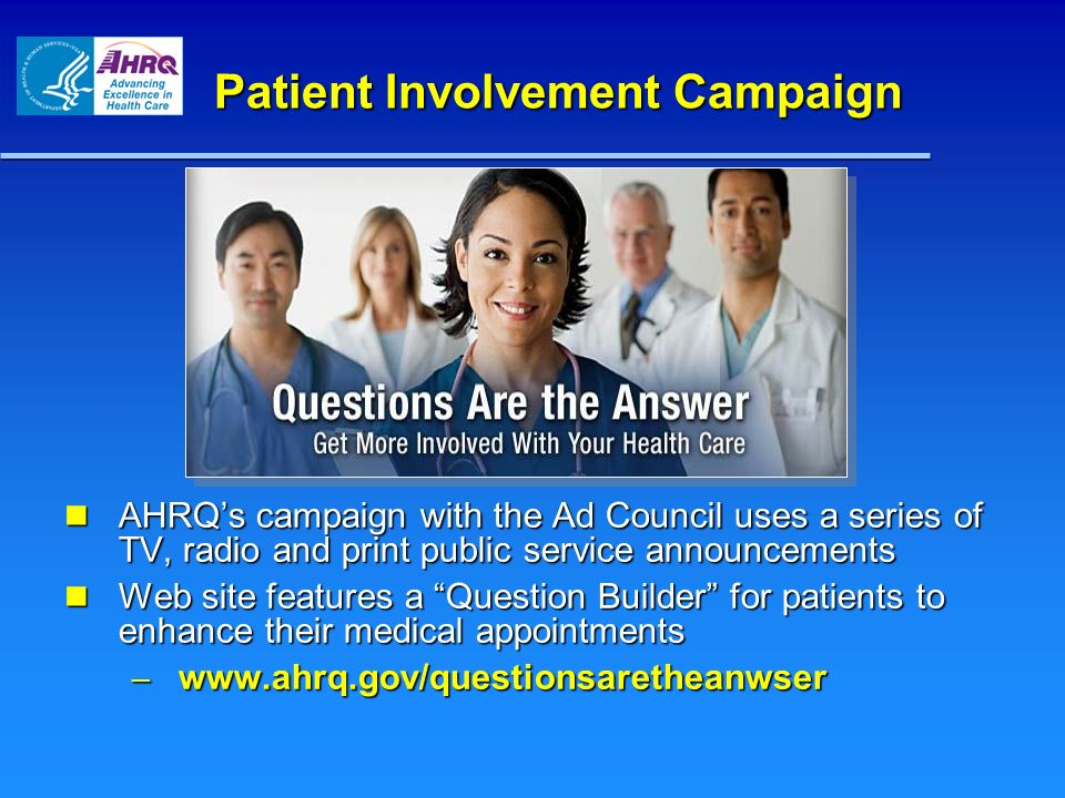 Patient Involvement Campaign