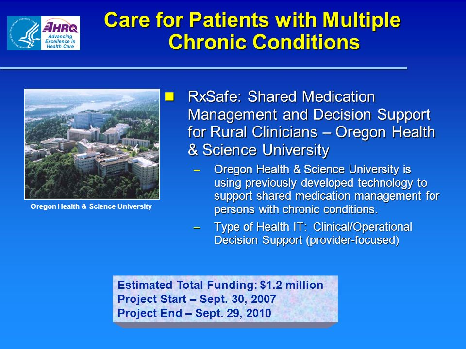 Care for Patients with Multiple Chronic Conditions