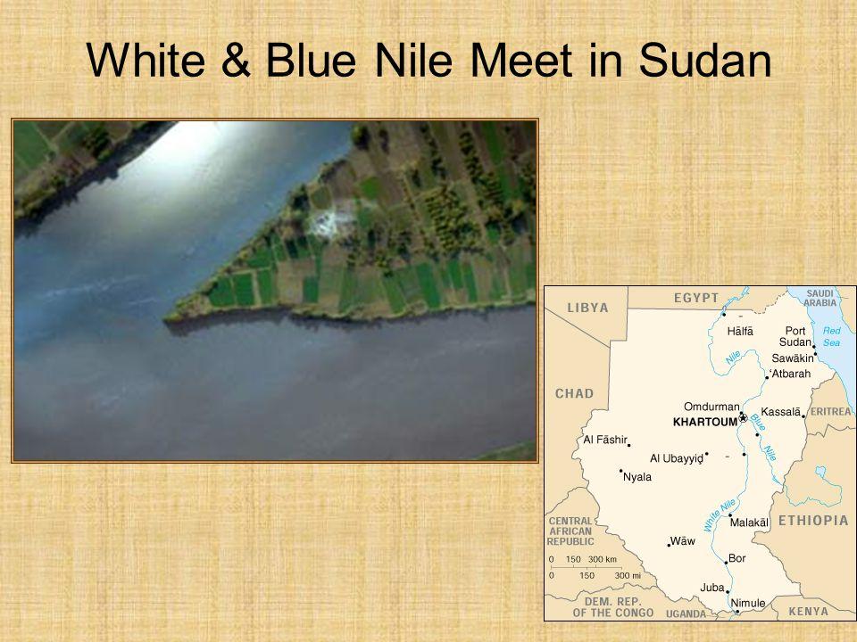 White & Blue Nile Meet in Sudan