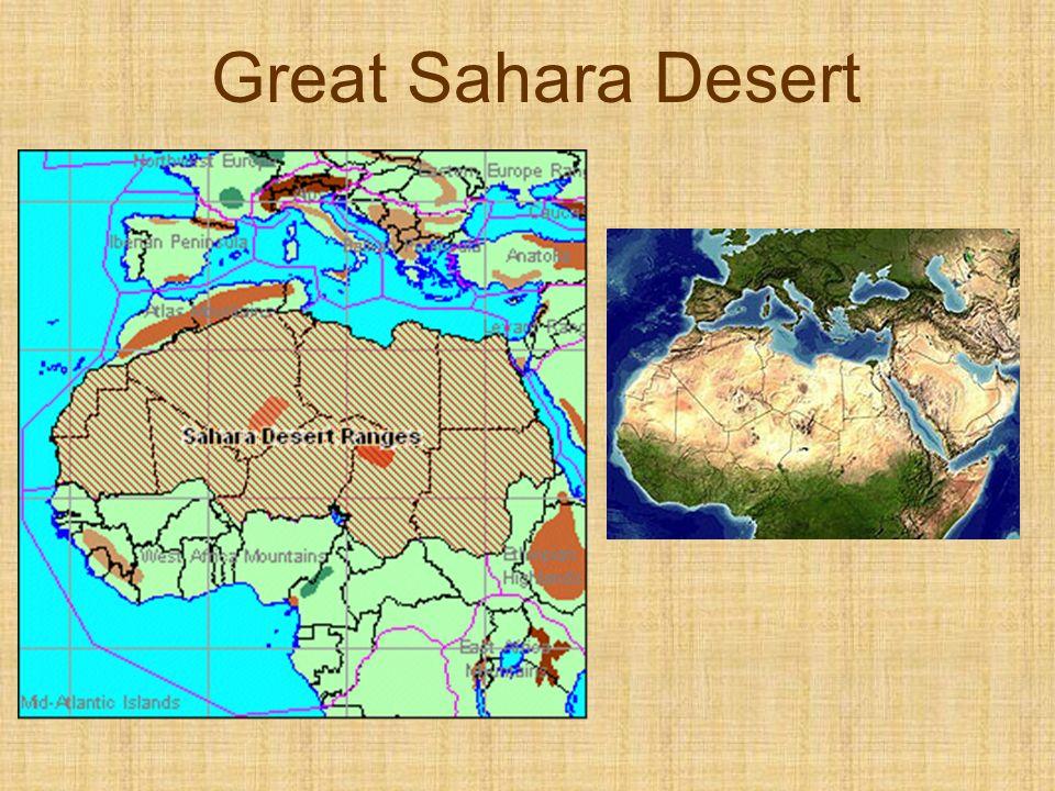 Great Sahara Desert
