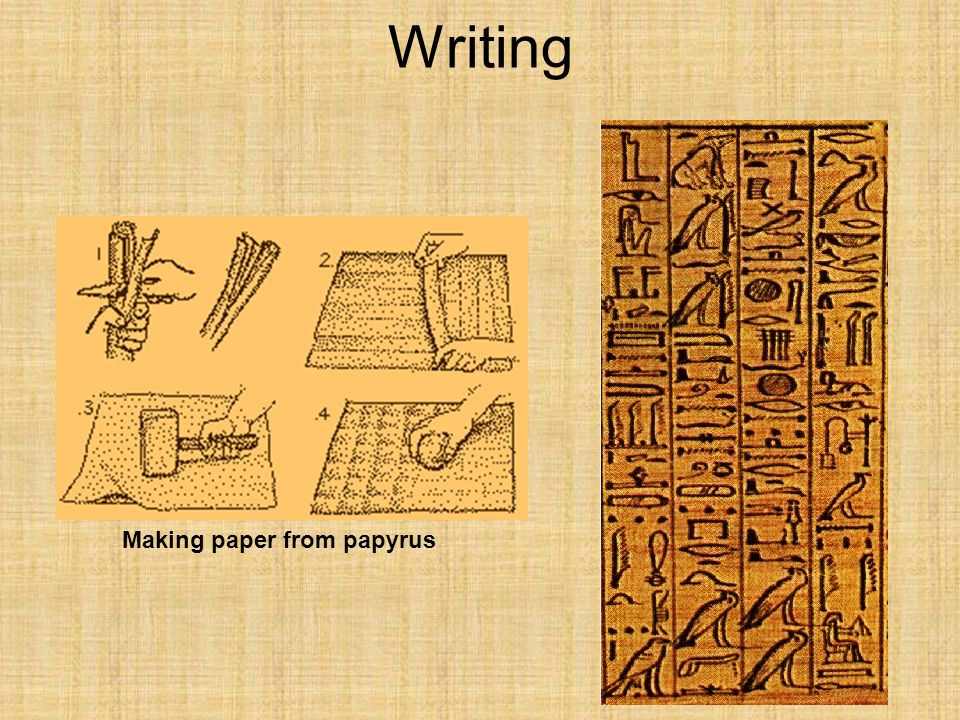 write conventional paper make
