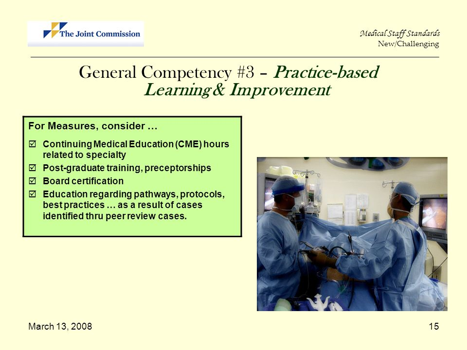 General Competency #3 – Practice-based Learning & Improvement