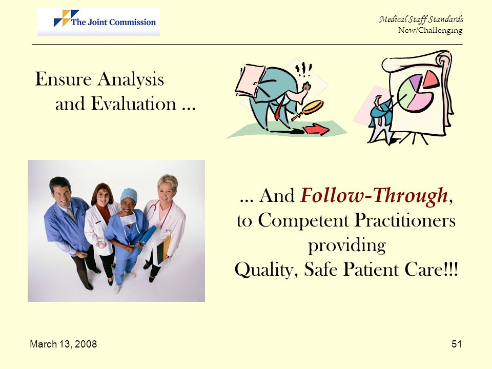 to Competent Practitioners providing Quality, Safe Patient Care!!!
