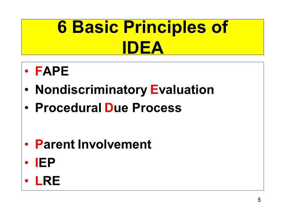 6 Basic Principles of IDEA