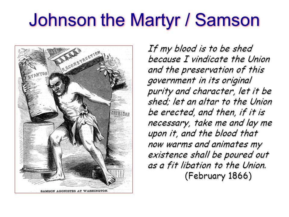 Johnson the Martyr / Samson