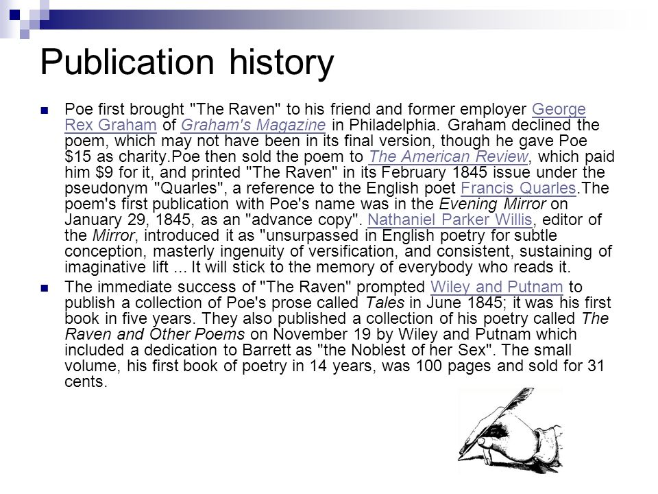 Publication history