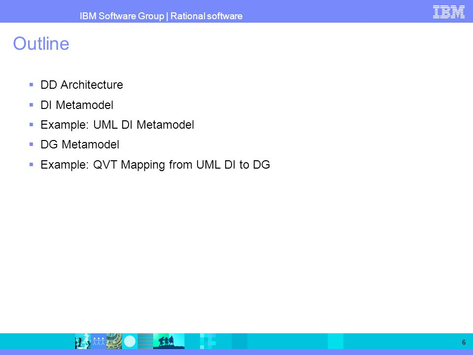 Outline DD Architecture DI Metamodel Example: UML DI Metamodel