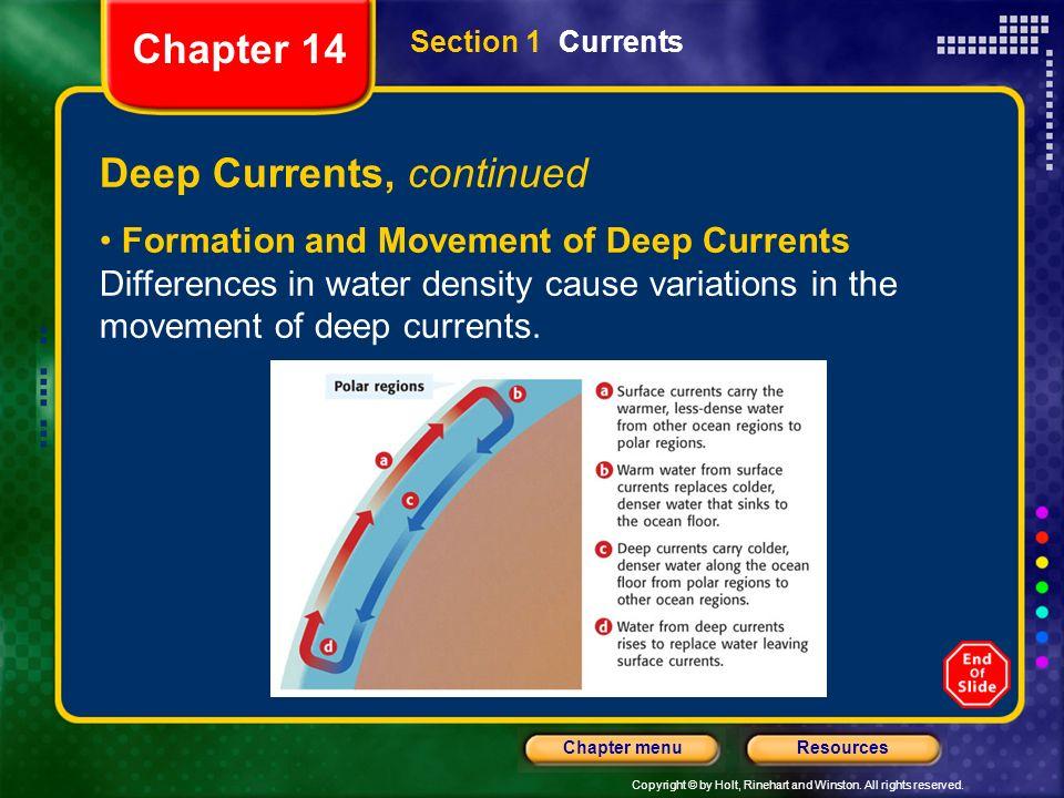 Deep Currents, continued