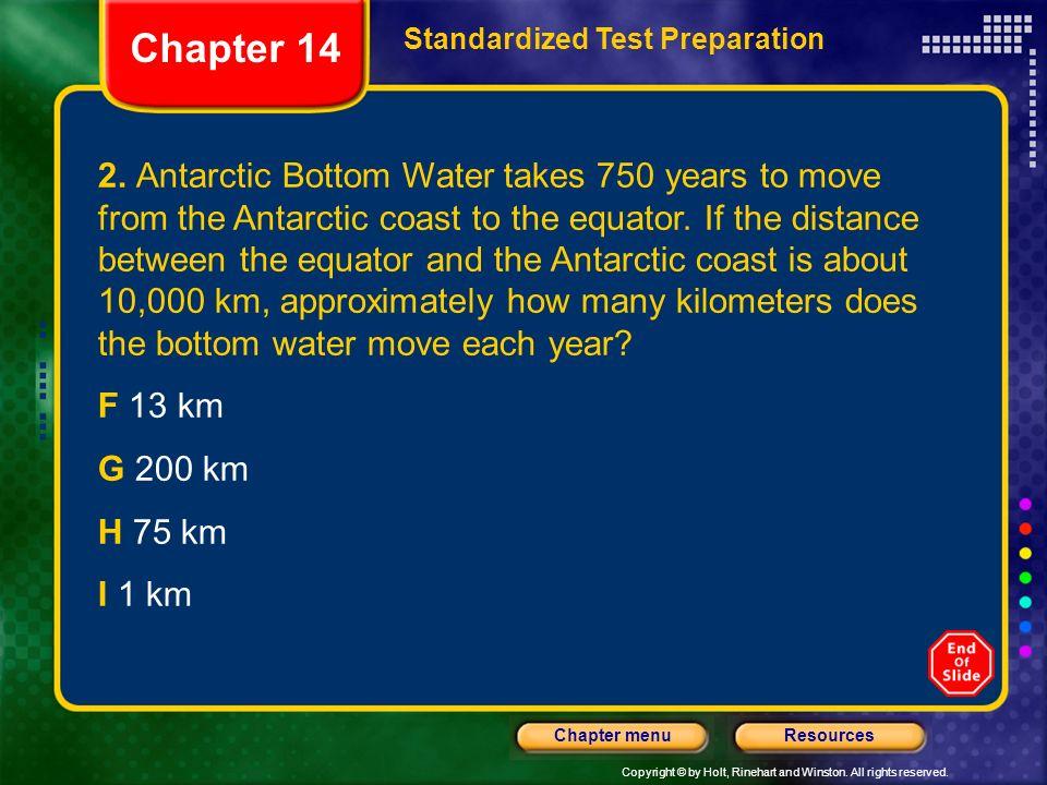 Chapter 14 Standardized Test Preparation.