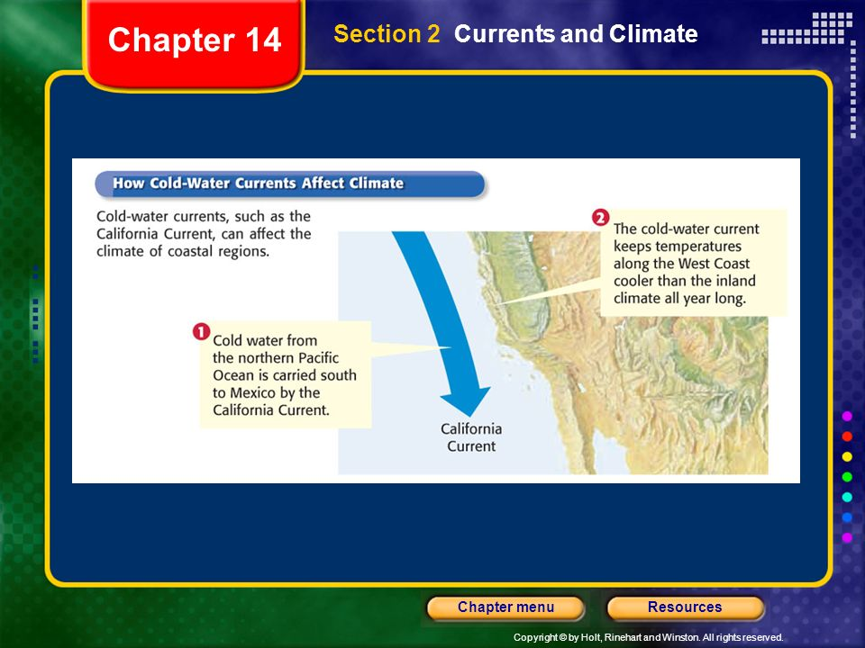Chapter 14 Section 2 Currents and Climate