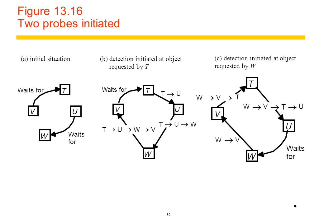 Figure 13.16 Two probes initiated